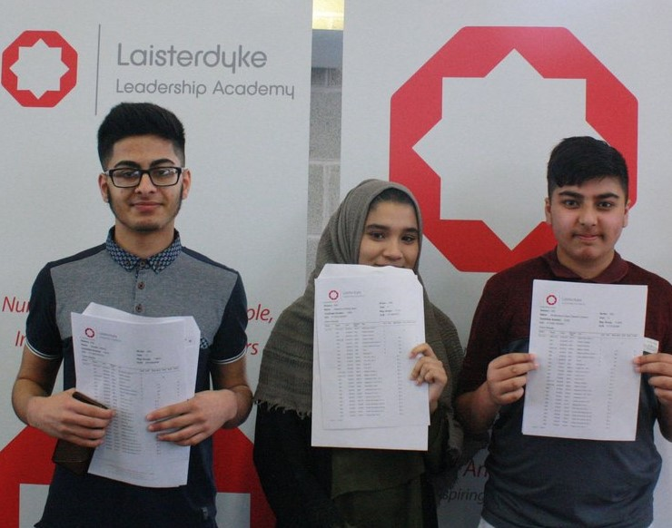 Top GCSE grades increase by 11% at Laisterdyke Leadership Academy