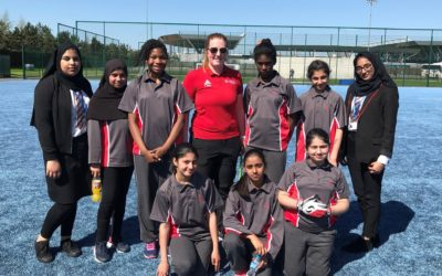 Laisterdyke girls score a victory in girls' football competition