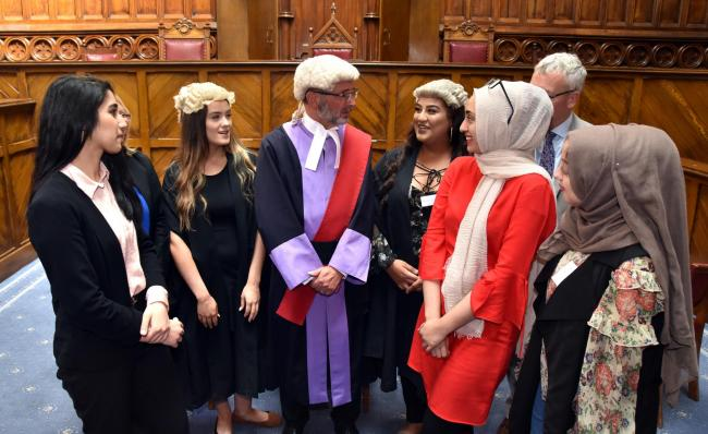 Inspiration for pupils considering legal career pathways