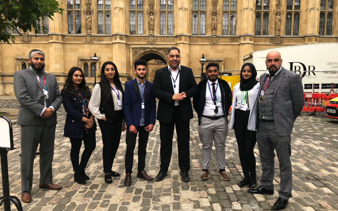 Laisterdyke pupils debate with local MP at Westminster