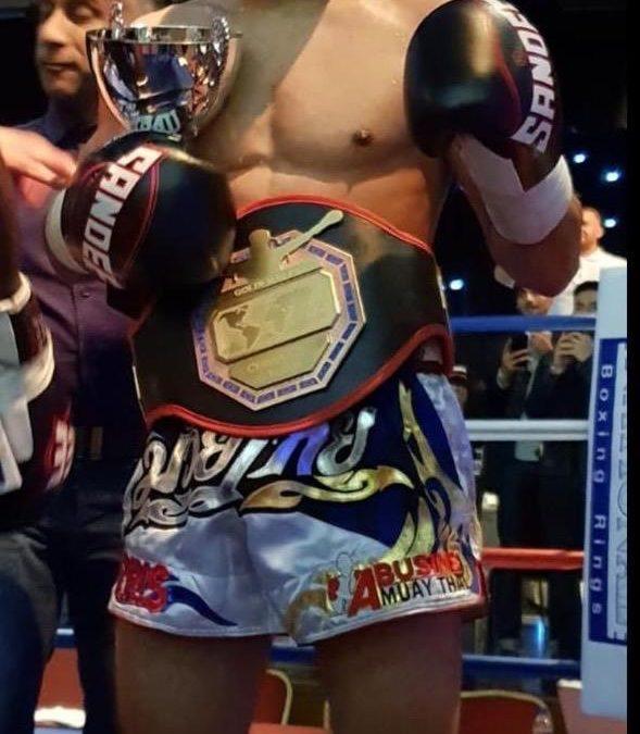 Ex-Laisterdyke Student wins European Kickboxing Title
