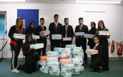 Generous pupils spread festive cheer to disadvantaged children