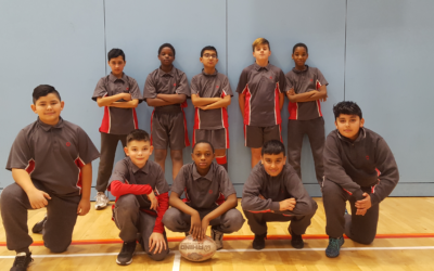Year 7 Rugby Team – Champions