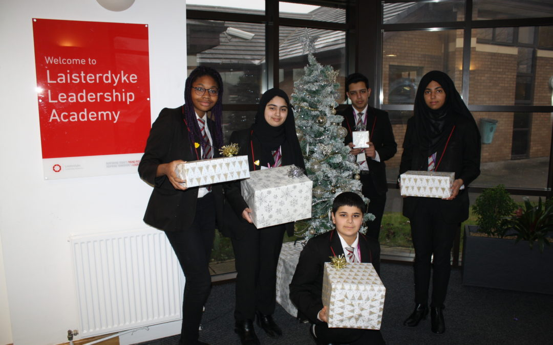 Pupils help bring a smile to the faces of Bradford's disadvantaged children