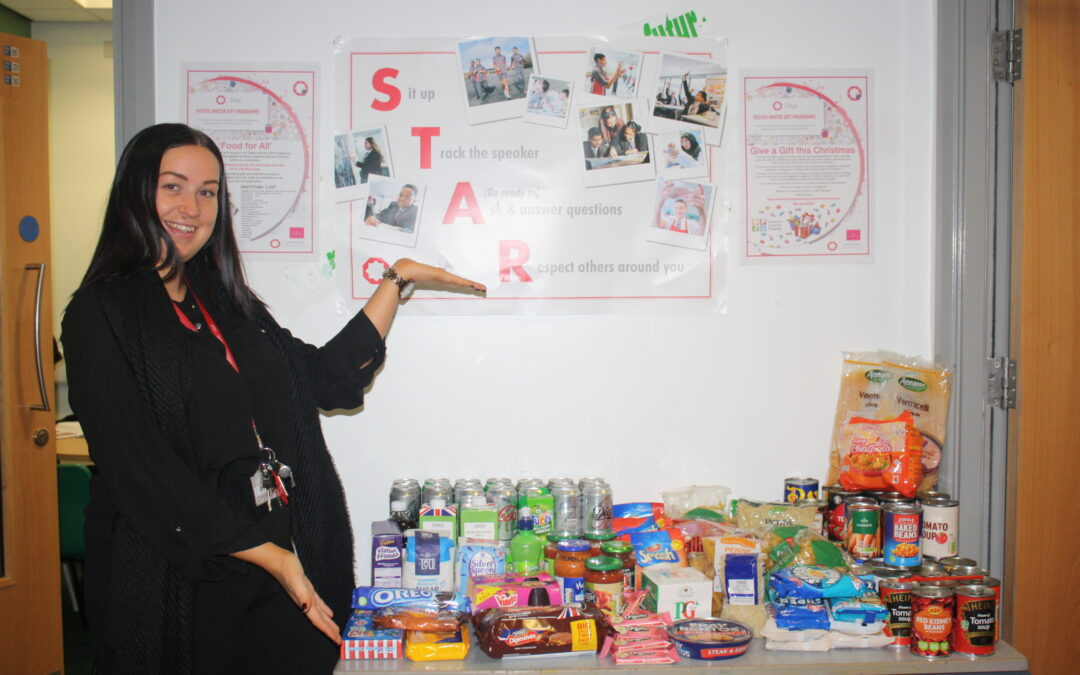 Generous pupils and staff care for the vulnerable with charity drive